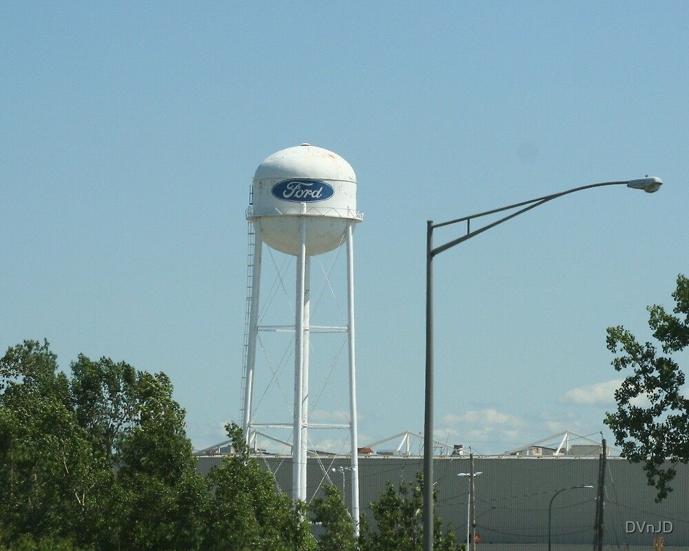 Ford Water Tower by DVnJD