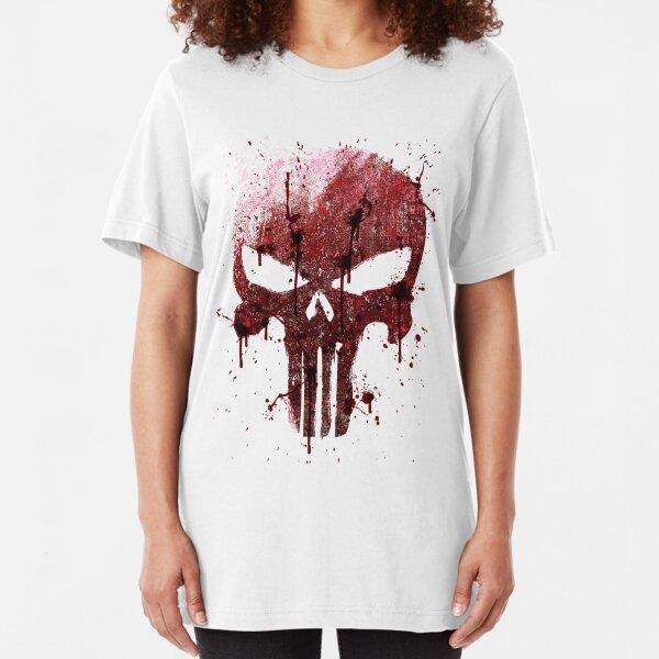 Red Skull Slim Fit T-Shirt