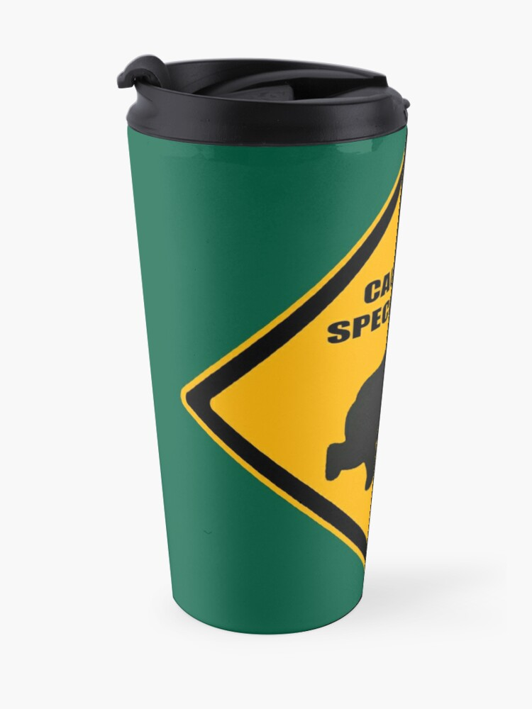 Alternate view of Caution - Special Dad at Play Travel Mug