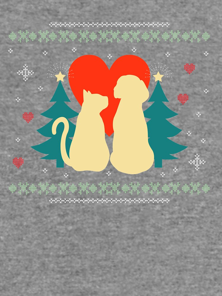 Goofy Christmas T-Shirt For Dog & Cat Lovers by Dogvills