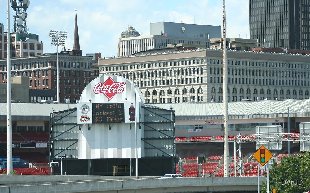 Coca-Cola Field Score Board by DVnJD