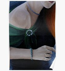 Exhibits-Woman with jewelry Poster