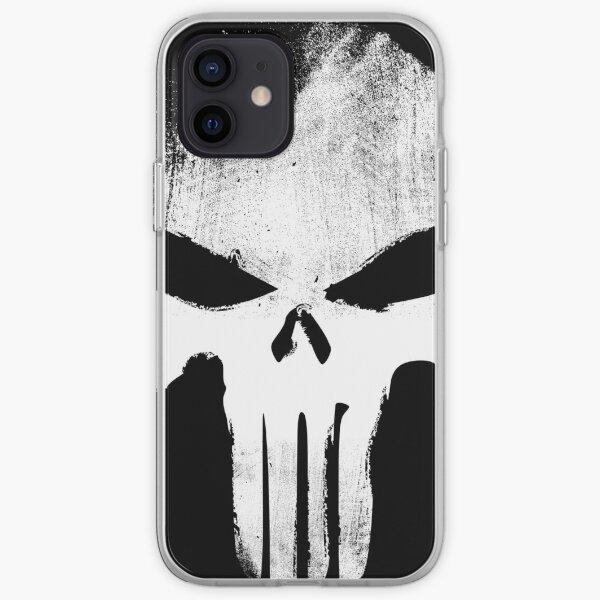 White Skull iPhone Soft Case