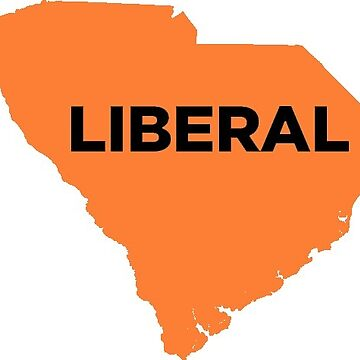 Liberal South Carolina - orange by wokesouth