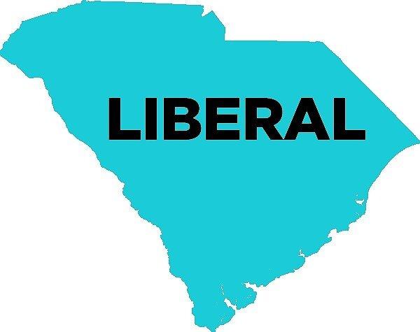 Liberal South Carolina - blue by wokesouth