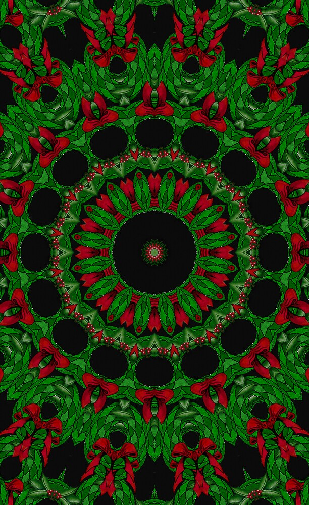 Chrismas Kaleidoscope by shadyuk