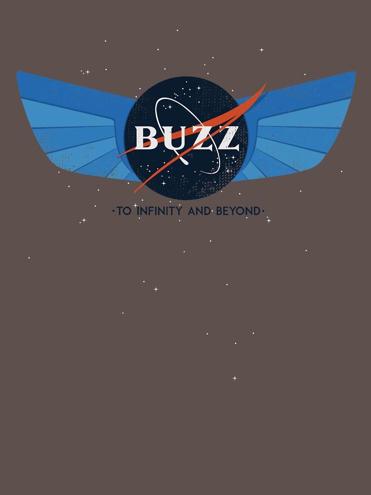 Buzz Nasa Logo by ChristosEllinas