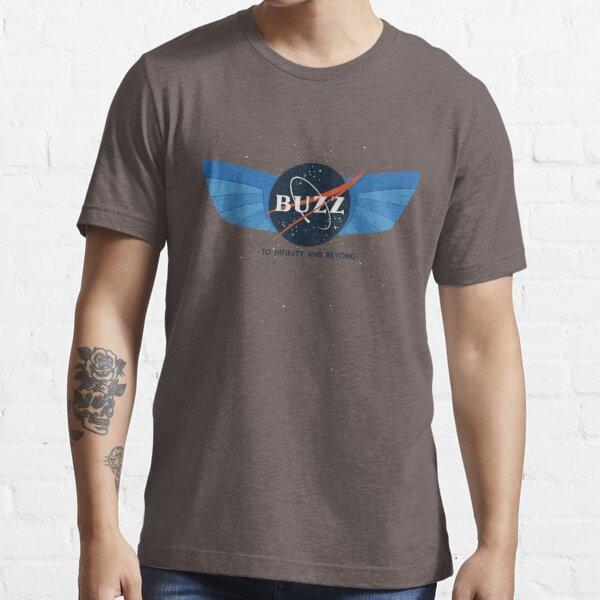 Buzz Nasa Logo Essential T-Shirt