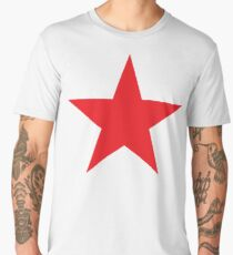 Red Star, STAR, RED, Stardom, Power to the people! Red Dwarf, Stellar, Cosmic Men's Premium T-Shirt
