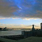 """Brooklyn Sunset"" by elombowmanart"