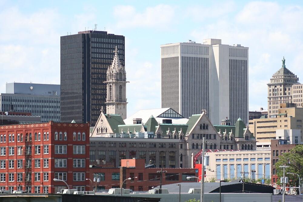 Downtown Buffalo, NY by DVnJD