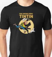 Lucky Luke - Tintin Slim Fit T-Shirt