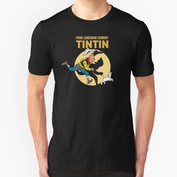 Lucky Luke - Tintin Slim Fit T-Shirt
