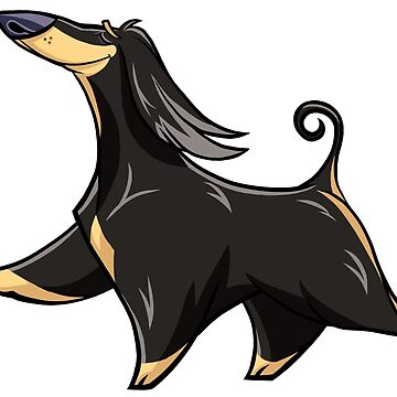 Afghan Hound II by waldogs