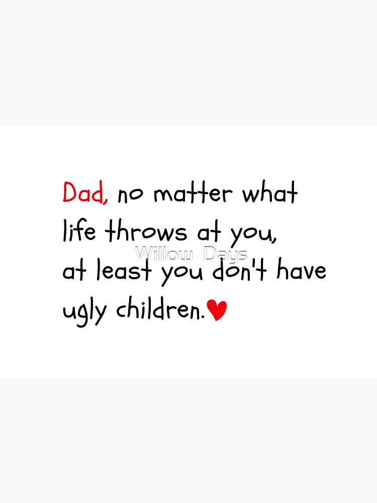 Dad funny quote, Dad birthday card, meme greeting cards by avit1