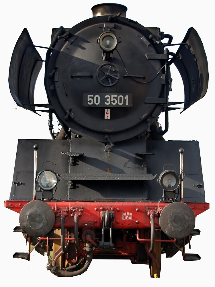 Steam locomotive of the class 50 of German railways-3 by trainmaniac
