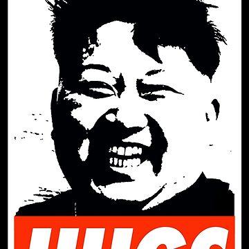 Kim Jong Un Hugs by Thelittlelord