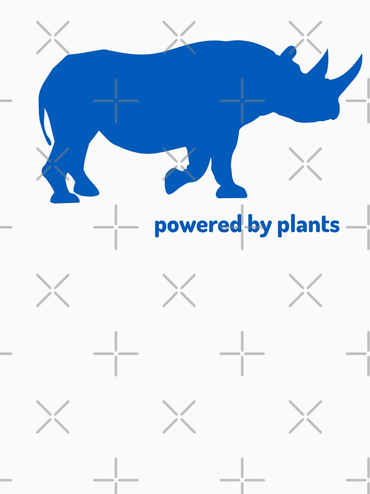 rhino powered by plants by PlantVictorious