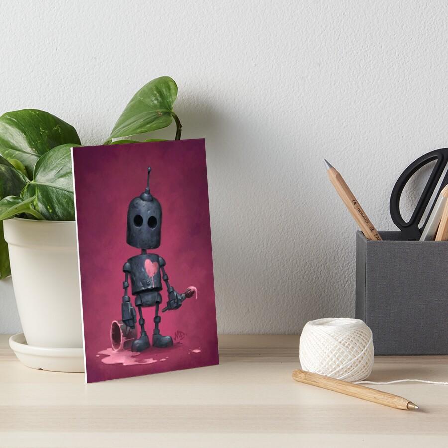 The Artist Art Board Print