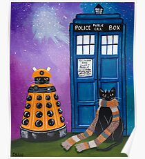 The Doctor and the Dalek Poster