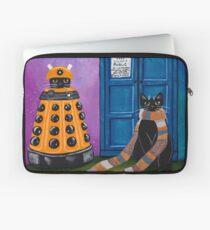 Der Doktor und der Dalek Laptoptasche