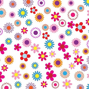 Cheerful Floral by BuzzEdition