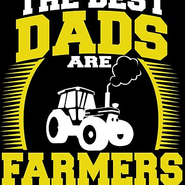 Farmer Dad Male Farmers Gift for Men Farming Dairy by kh123856