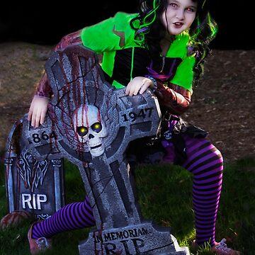 Graveyard Ghoulie! by heatherfriedman