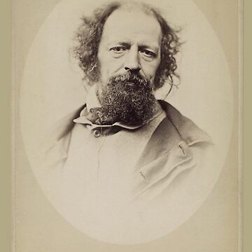 Alfred, Lord Tennyson by TOMSREDBUBBLE