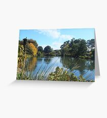 Botanic Gardens Auckland New Zealand Greeting Card