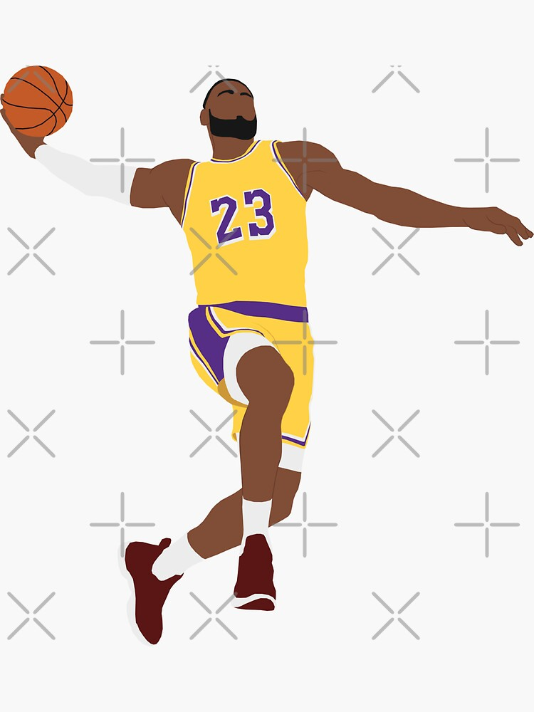 LeBron James - Dunk by PatOrmsby17