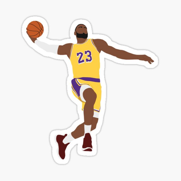LeBron James - Dunk Sticker