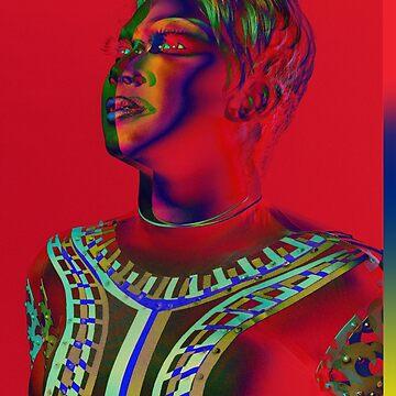 Bright color portrait by jsebouvi