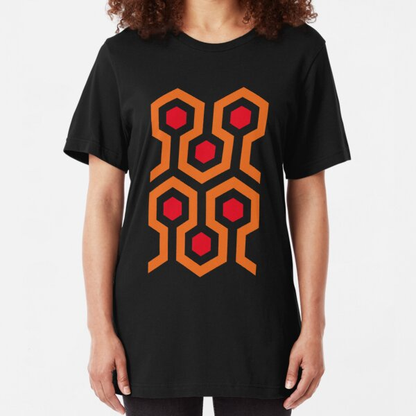 The Shining Carpet Pattern Slim Fit T-Shirt