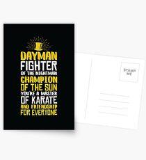 DAYMAN! Champion of the Sun! Postcards