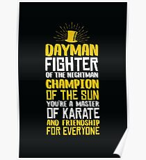 DAYMAN! Champion of the Sun! Poster