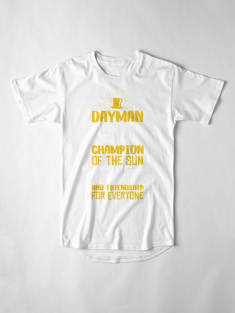 Alternative Ansicht von DAYMAN! Champion der Sonne! Longshirt