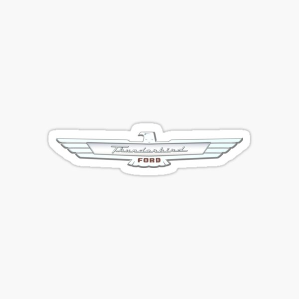 Thunderbird Emblem Sticker