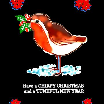 CHIRPY CHRISTMAS  by Shoshonan