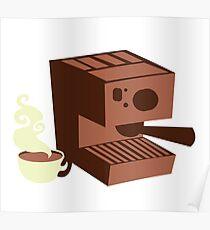 Italian coffee machine! espresso Poster