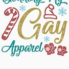 LGBT Gay Christmas by thepixelgarden