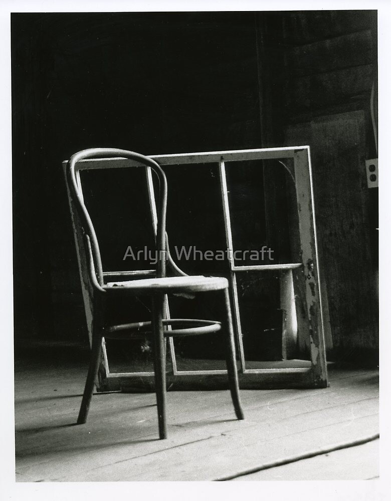 That Chair in the Window Please by Arlyn Wheatcraft