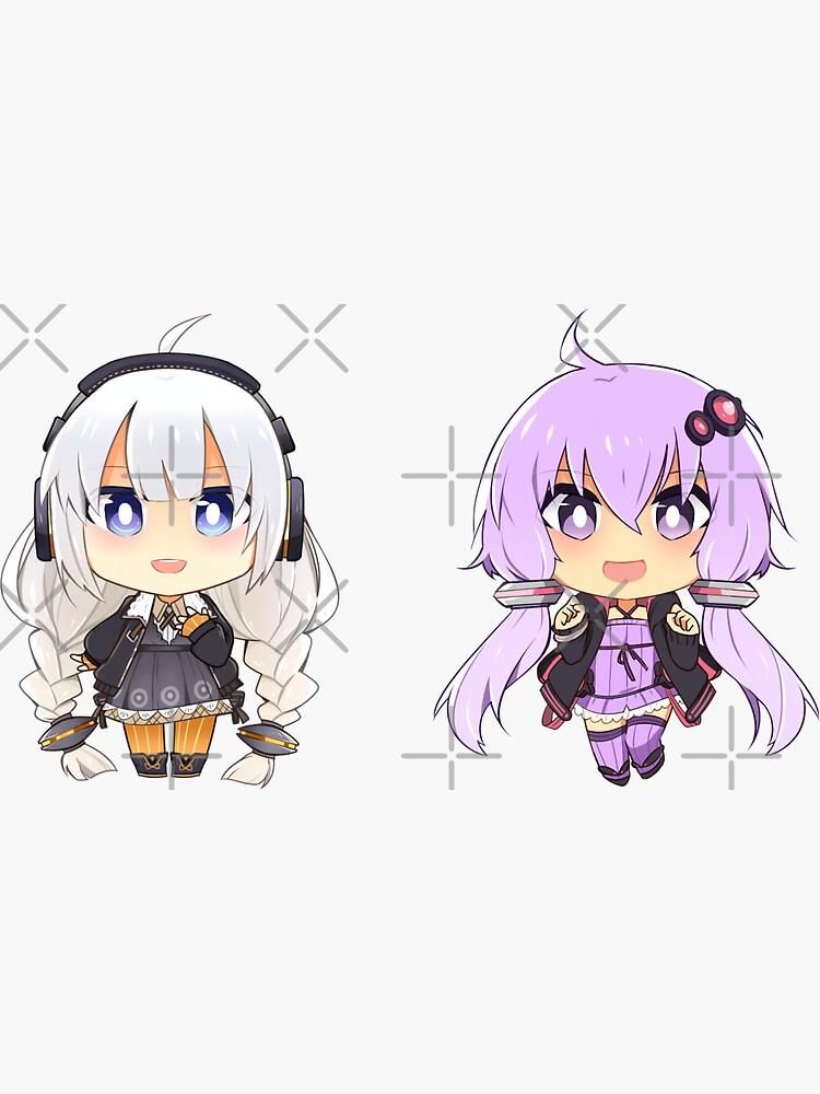 Akari + Yukari by Chorvaqueen
