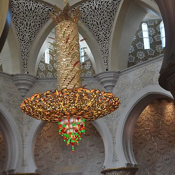 CHANDELIER IN JUMEIRAH MOSQUE,DUBAI by JAYMILO