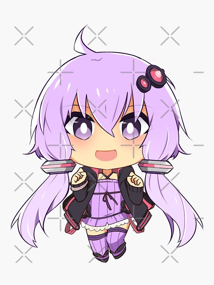 Vocaloid Yukari by Chorvaqueen