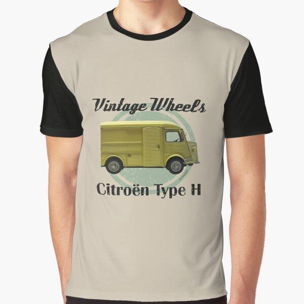 Vintage Wheels - Citroën Type H Graphic T-Shirt