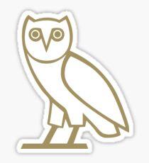 OVO Owl in Gold Sticker