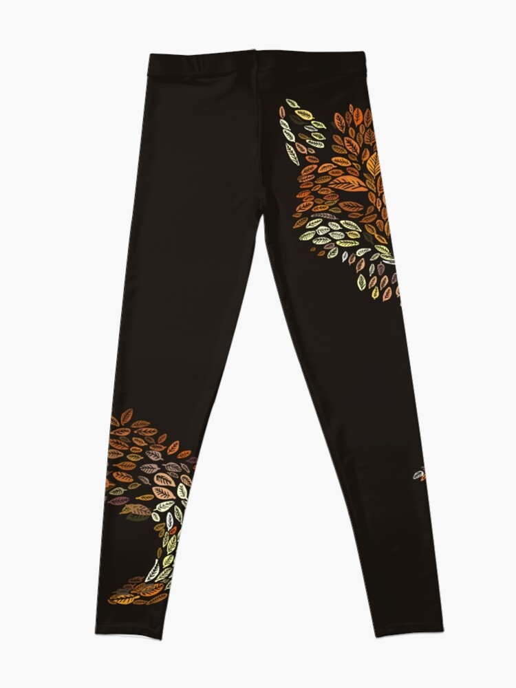 Alternate view of The Fox Leaves at Midnight Leggings