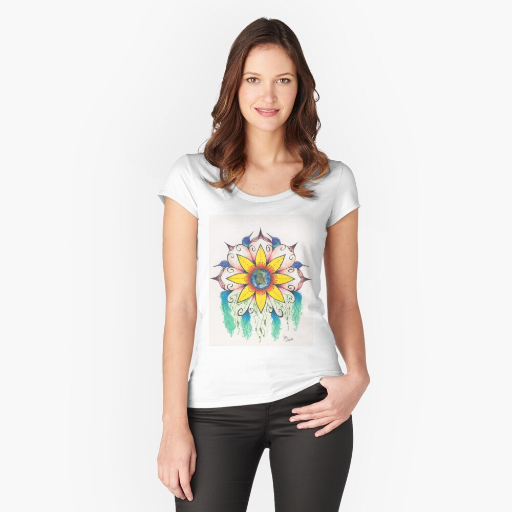 Symphony of Summer Fitted Scoop T-Shirt