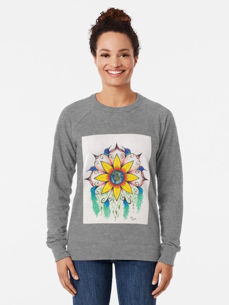 Alternate view of Symphony of Summer Lightweight Sweatshirt